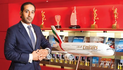 Emirates Manager Mr. Jabr Al-Azeeby