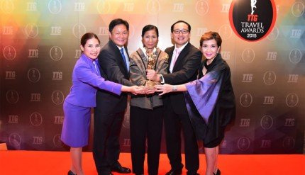 THAI Wins TTG Travel Awards 2015 for Best South East Asian Airlines
