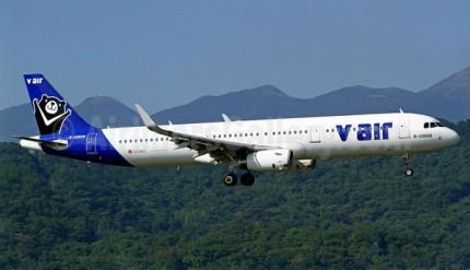 V Air A321-200 B-22608 (14)(Ldg) TSA (MNG)(46)-M