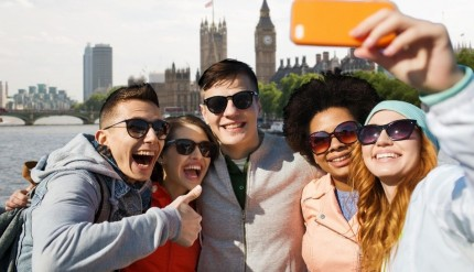 Global travelers most likely to want to meet travelers of their own nationalities on holiday